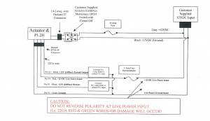 Electric Actuated Dump Valve Wiring Diagram